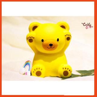 [RẺ NHẤT] squishy gấu to (82000k – Vàng)