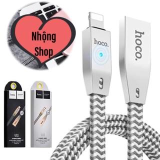 Cable sạc Iphone Hoco U11 tự ngắt chống chai pin