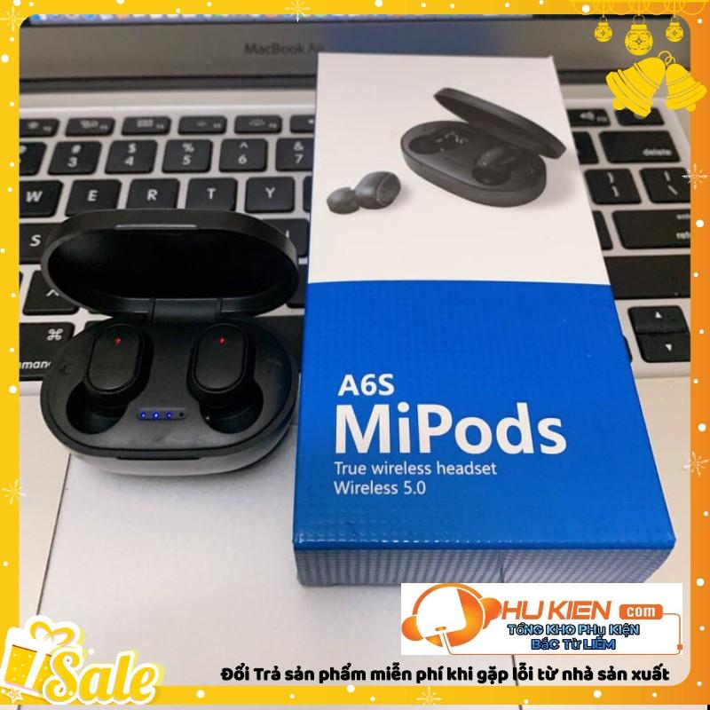 Tai Nghe Bluetooth a6s Mipod + Đốc sạc