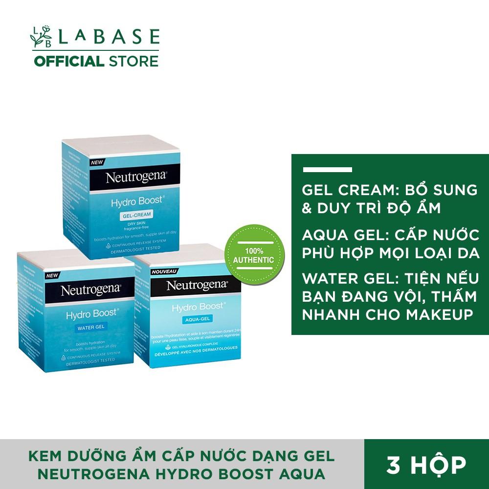 Neutrogena Hydro Boost Aqua Gel, Gel Cream, Water Gel - Kem Dưỡng Ẩm Cấp Nước Dạng Gel