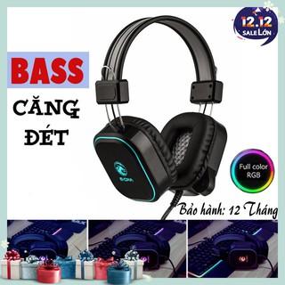Tai nghe Gaming E-DRA EH401 – Đèn led RGB cực sáng – Bass cực căng – Dùng được cho điện thoại – Bảo hành 12 tháng