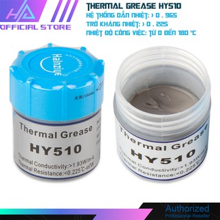 Keo tản nhiệt HY510 cực tốt cho cpu- hũ 20gr - Chính hãng Halnziye HY510-TU05A thumbnail