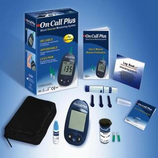 [Thương Hiệu Mỹ] Máy đo đường huyết On Call PLus - Tặng Kèm 25 que thử - Đo Chính Xác 99% trước và sau khi ăn thumbnail