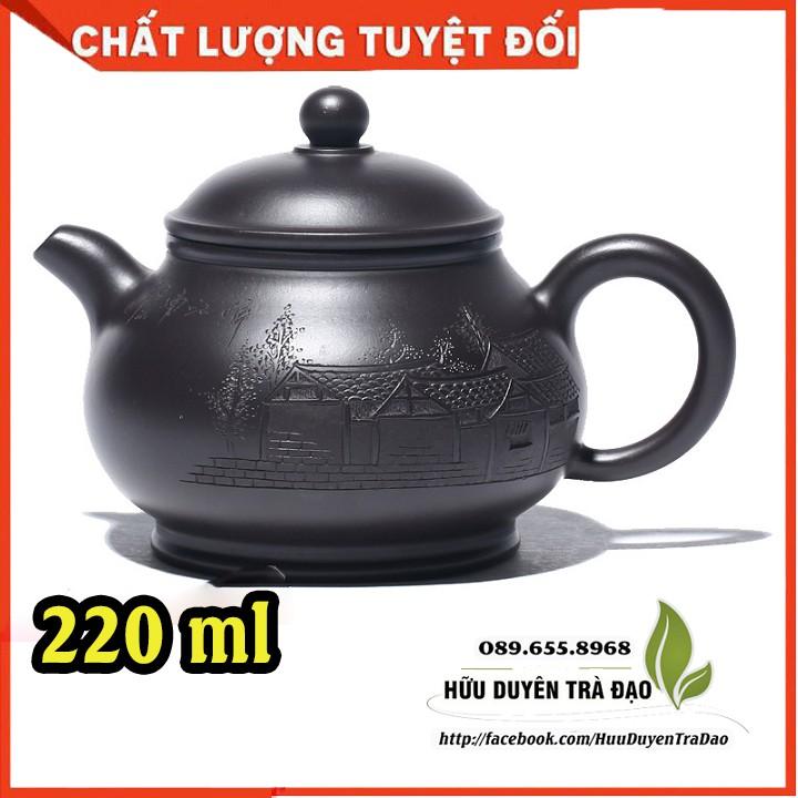 Ấm trà tử sa THANH MINH THƯỢNG HÀ ĐỒ(cao cấp) - ấm tử sa nghi hưng cao cấp - pha trà, trà đạo