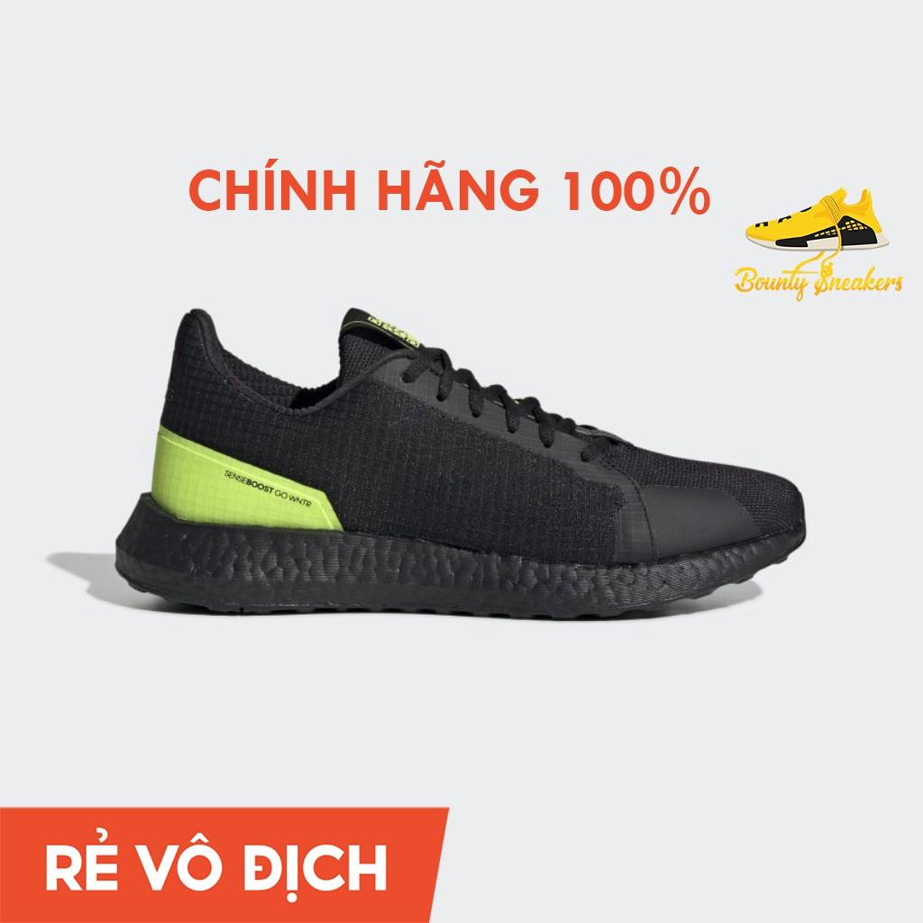 Giày Sneaker Thể Thao Nam Adidas Senseboost Go Winter  Đen Xanh EH1029 - Hàng Chính Hãng - Bounty Sneakers