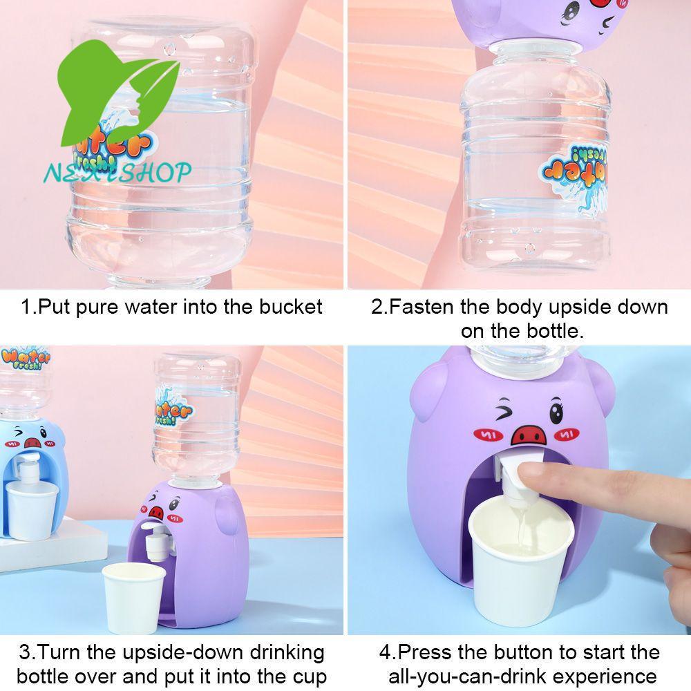 Đồ chơi bình đựng nước Mini kiểu hoạt hình dễ thương cho bé