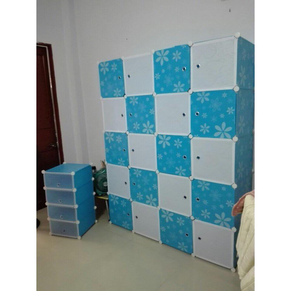 Tủ nhựa ghép MHG 20 ô