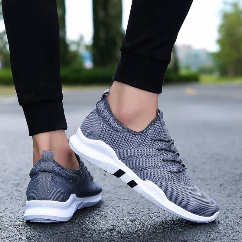 Men Shoes Running Shoes Comfortable Sneaker Casual Lace Up Shoes