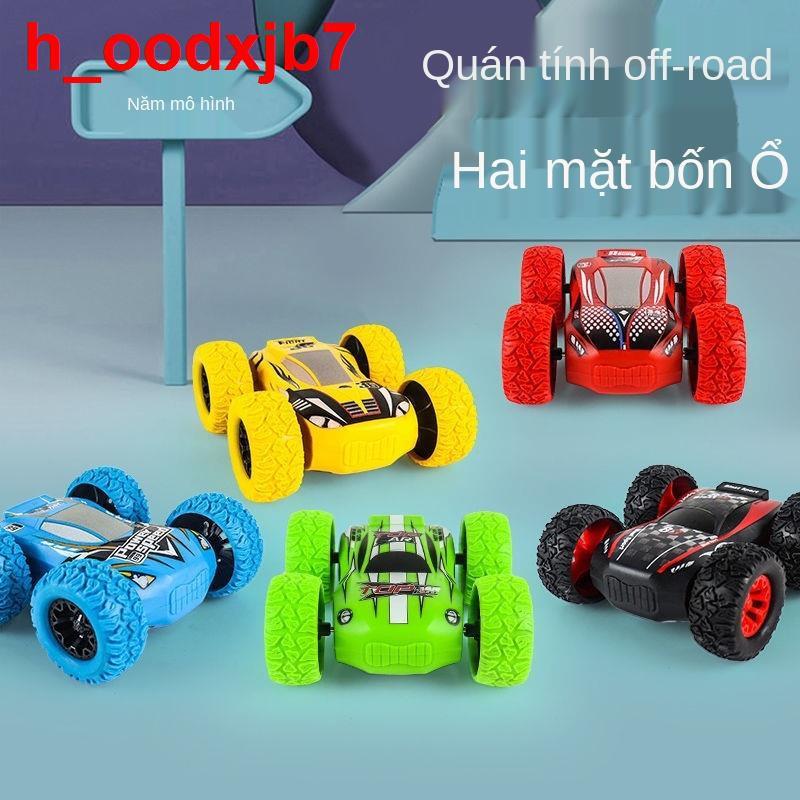 Xe địa hình dẫn động bốn bánh quán tính, ben kéo lùi hai bên, ô tô đồ chơi, trẻ em, bé gái và trai, 3-4 đến 6