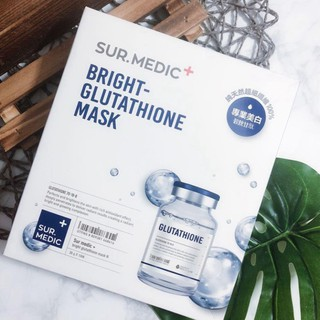 Mặt Nạ Trắng Da Sur.Medic Bright Glutathione Mask H241