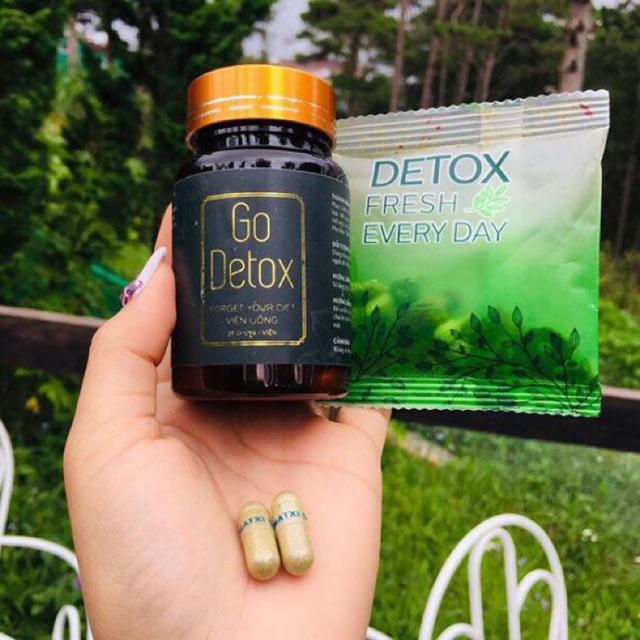 Combo giảm cân go- detox chính hãng
