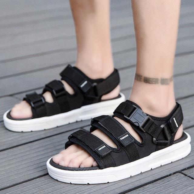 ( Ảnh Thật ) Sandal Nam Quai Ngang Mẫu Mới Siêu Hot