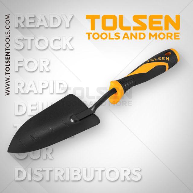 [Giá Rẻ] Tolsen chính hãng 57500 cây bay làm vườn cán nhựa 330mm tolsen chất lượng cao