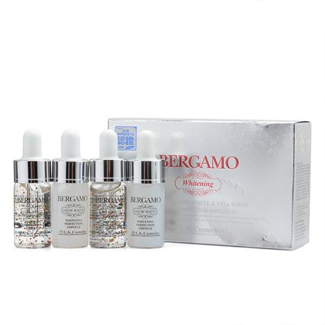 Serum dưỡng trắng da Bergamo Whitening Snow White and Vita-White