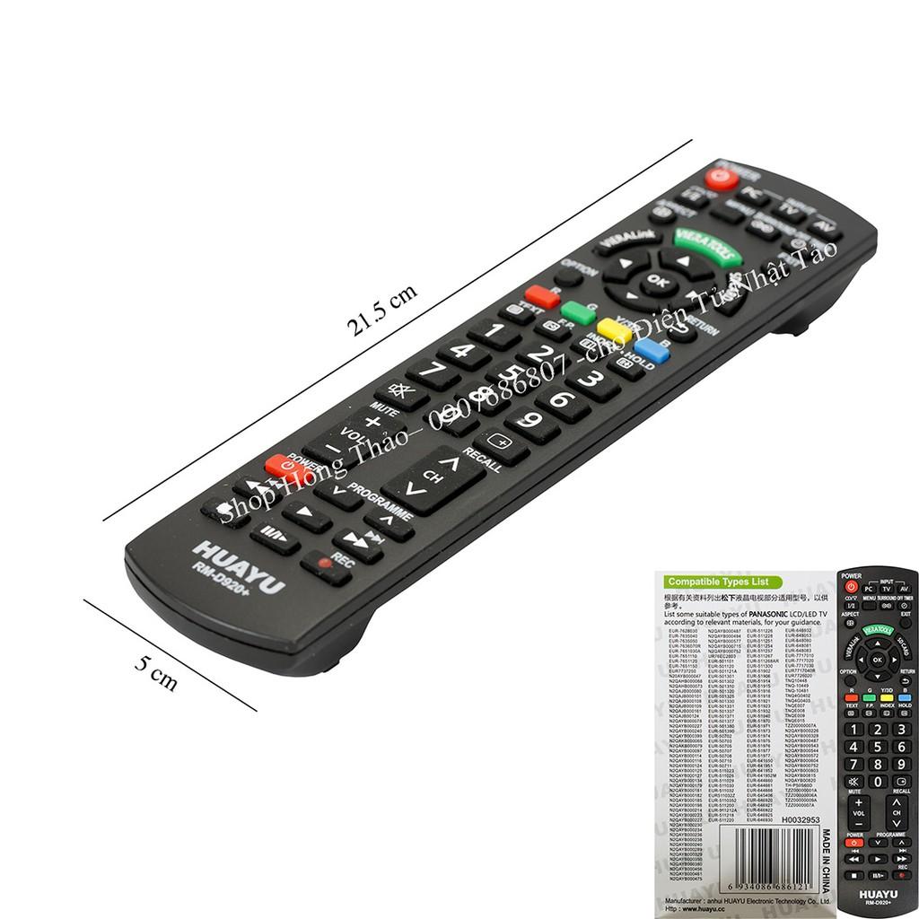Remote Tivi Huayu for Panasonic có hộp