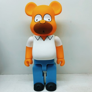 [CÓ SẴN][Ảnh tự chụp] Bearbrick Nhân vật Homer Simpson 400%