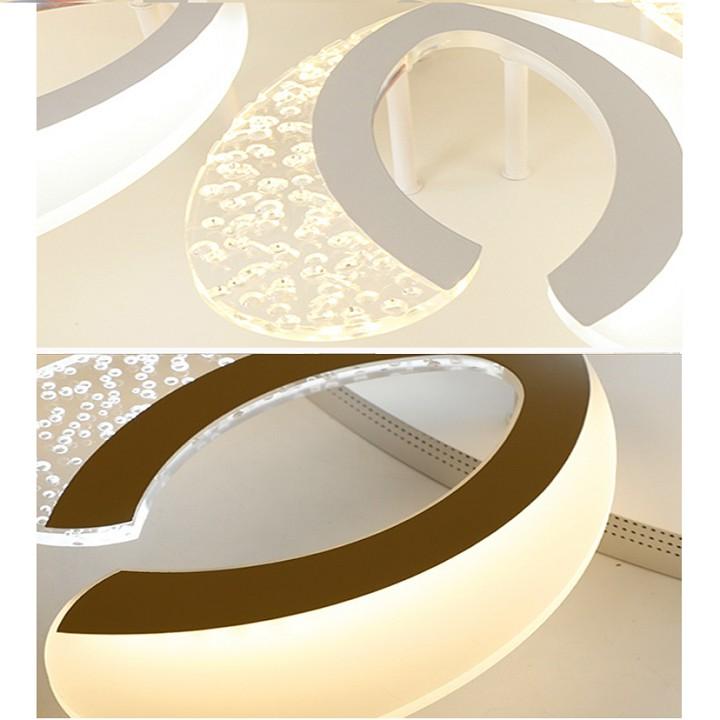Đèn Ốp Trần Hiện Đại 3 Màu Mẫu V27– Có Điều Khiển – Tiết Kiệm Điện Năng