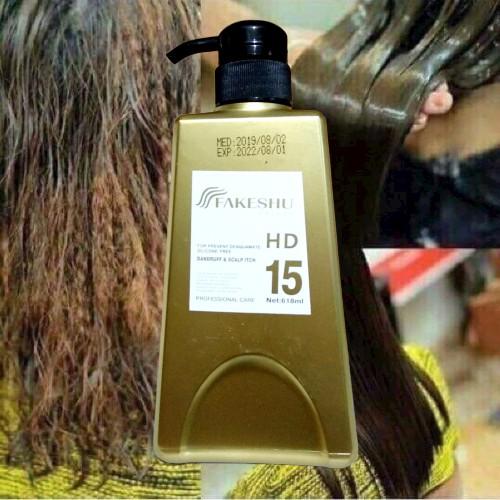 [Hàng Chính Hãng] Kem ủ tóc phủ lụa Fakeshu Collagen keratin siêu mềm mượt 618ml