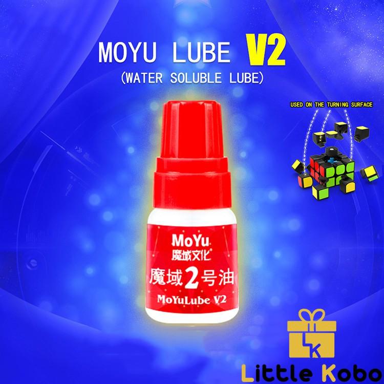 Silicon Dầu Bôi Trơn Rubik Moyu Lube V1/V2 5ml