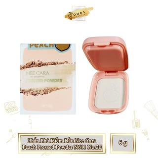 [Auth Thái] Phấn Phủ Kiềm Dầu Nee Cara Dạng Bột Tông Sáng Peach Pressed Powder N611 No.20 - Phấn Phủ Kiềm Dầu Thái Lan thumbnail