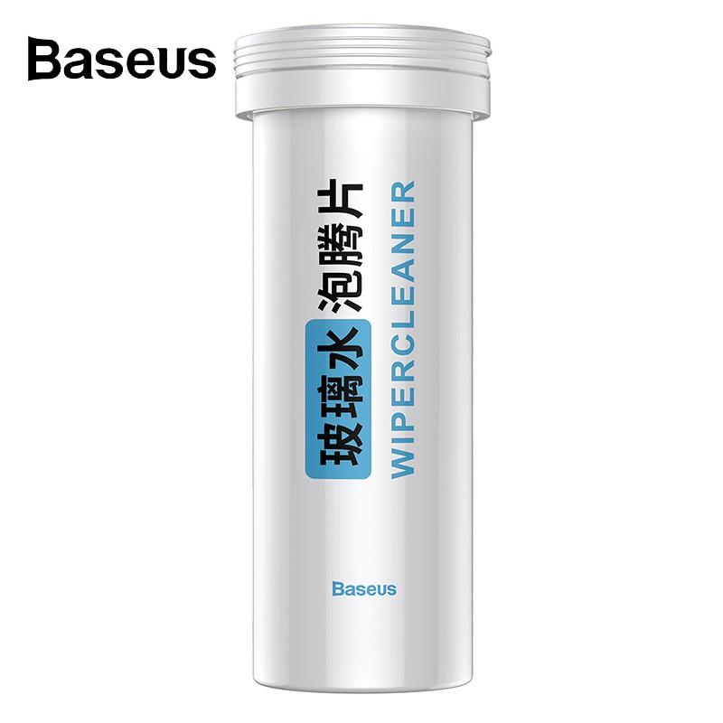 Hộp 12 viên rửa kính chắn gió xe hơi hiệu Baseus Seminoma dạng cứng
