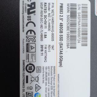 SSD Samsung PM883 480GB 2.5inch SATA 6Gb/s V4