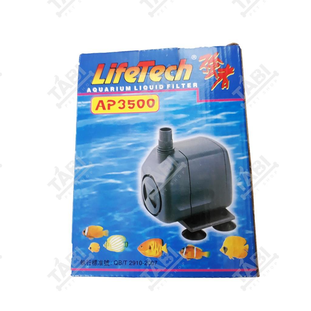 Máy Bơm Nước Hồ Cá LifeTech AP3500 - Máy Bơm Nước Bể Cá Cao Cấp - 14459298 , 2606237293 , 322_2606237293 , 180000 , May-Bom-Nuoc-Ho-Ca-LifeTech-AP3500-May-Bom-Nuoc-Be-Ca-Cao-Cap-322_2606237293 , shopee.vn , Máy Bơm Nước Hồ Cá LifeTech AP3500 - Máy Bơm Nước Bể Cá Cao Cấp