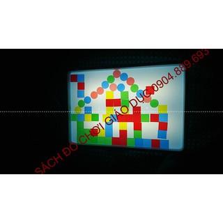 Bàn ánh sáng kỳ diệu Magic Light Table cho trẻ em chơi