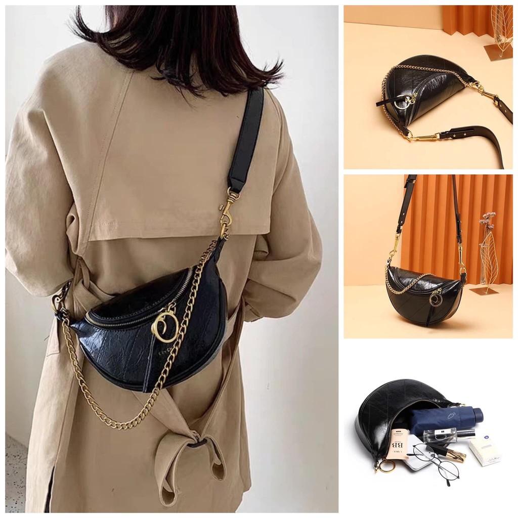 Túi đeo bụng túi bao tử đeo chéo nữ hottrend mẫu mới nhất 2020 DBUNGCNK + hình tự chụp