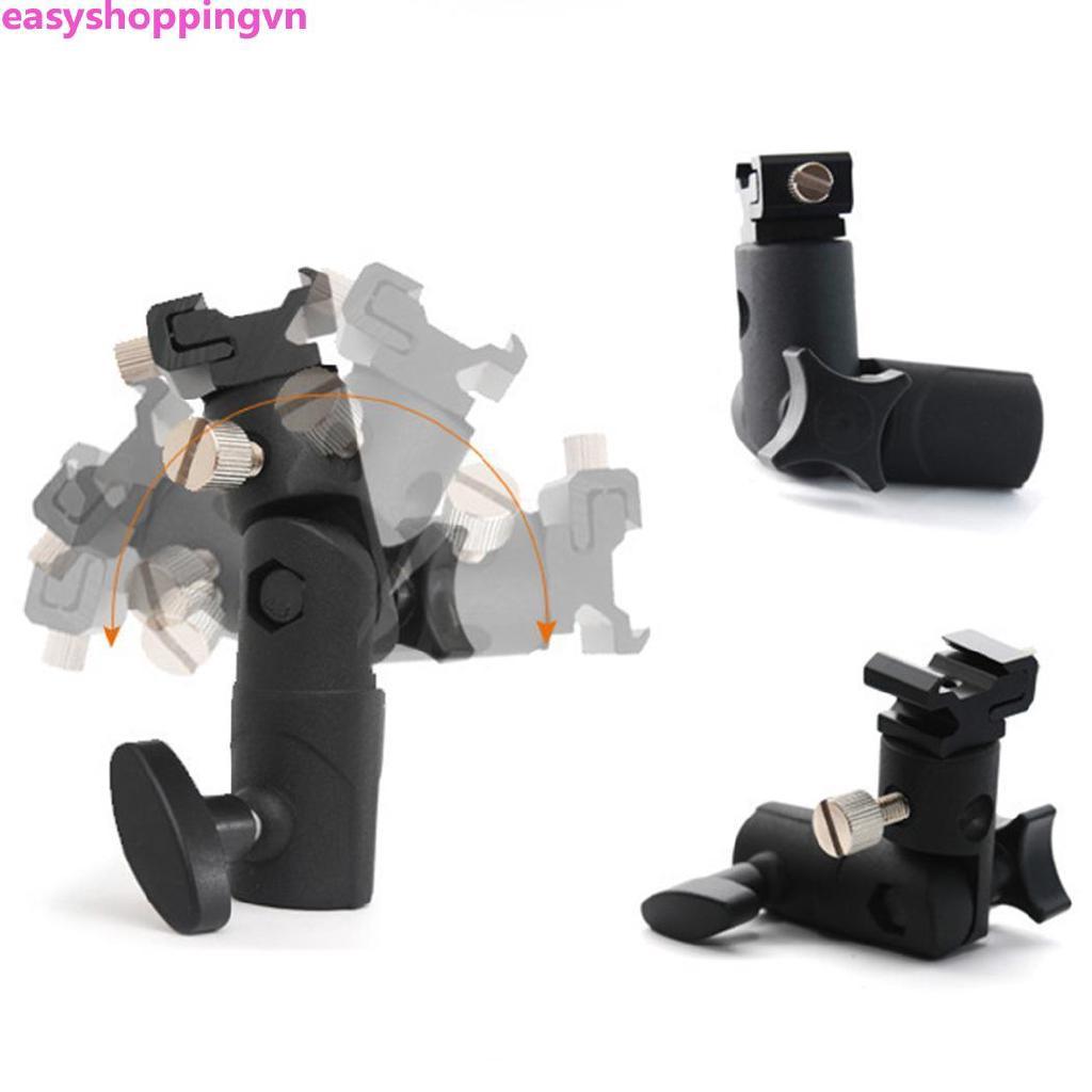 ☀ Camera E-type Lamp Holder Metal Flash General Hot Shoe Bracket Tripod