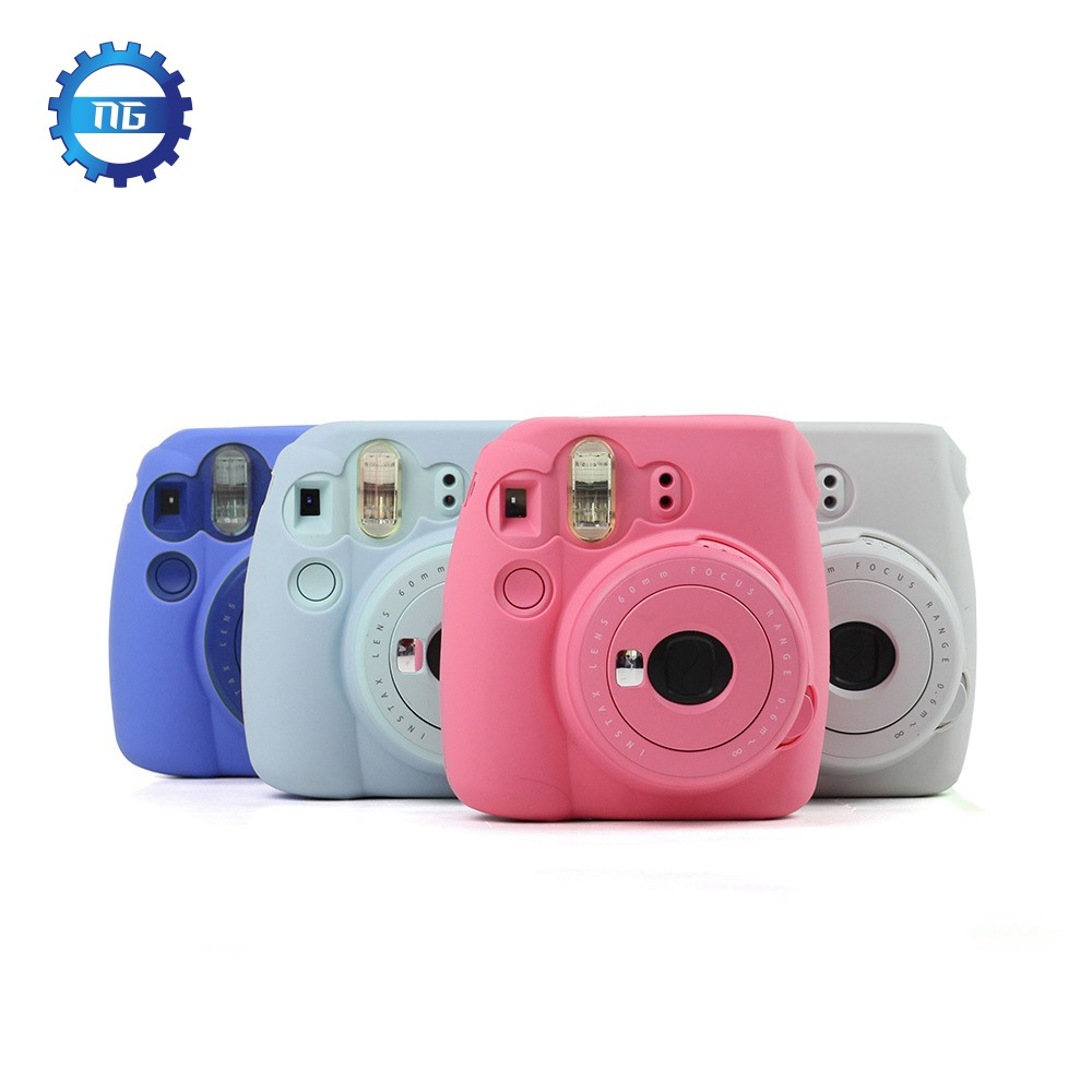 Camera/video bags mini 8 protective case polaroid 1pcs(pink)