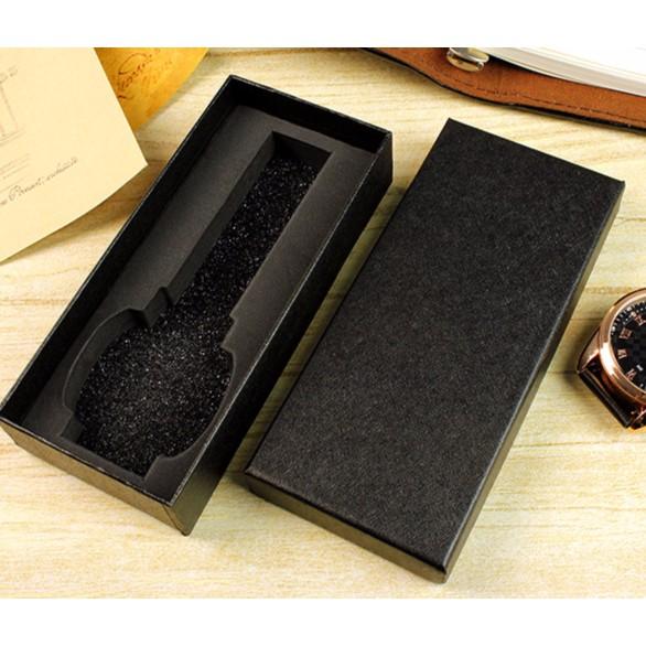 Hộp đồng hồ .Hộp đựng trang sức KT.14,5 x6.5x3 cm (Đen)