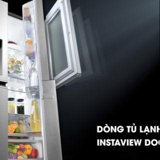 Tủ lạnh LG Inverter 601 lít GR-X247JS InstaView Door-in-Door