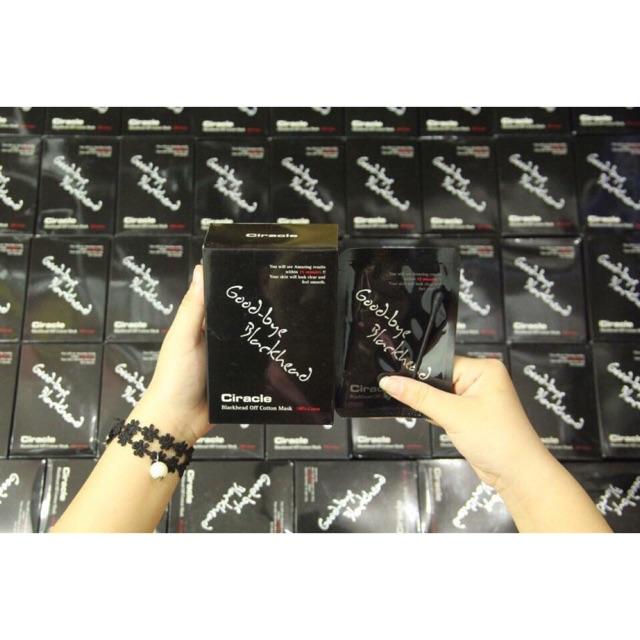 MẶT NẠ ĐẨY MỤN ĐẦU ĐEN CIRACLE GOODBYE BLACKHEAD - 2476689 , 1000344259 , 322_1000344259 , 15000 , MAT-NA-DAY-MUN-DAU-DEN-CIRACLE-GOODBYE-BLACKHEAD-322_1000344259 , shopee.vn , MẶT NẠ ĐẨY MỤN ĐẦU ĐEN CIRACLE GOODBYE BLACKHEAD