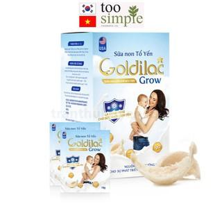 Combo sữa non tổ yến GOLDILAC GROW hộp 280 gam thumbnail