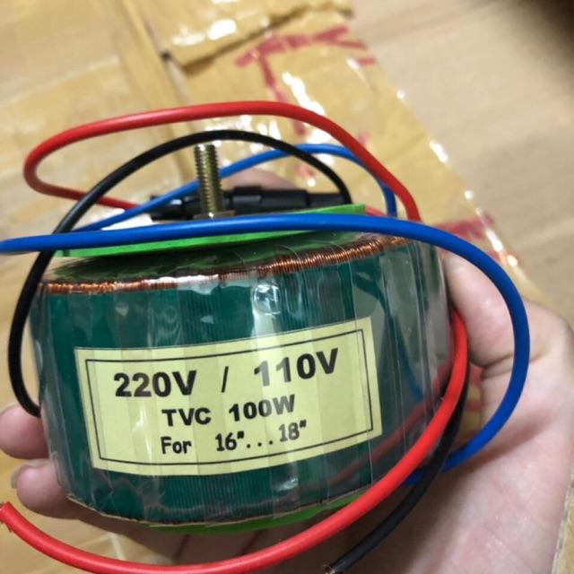 Biến áp xuyến 220V/110V