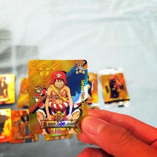 Combo 4 thẻ bài one piece