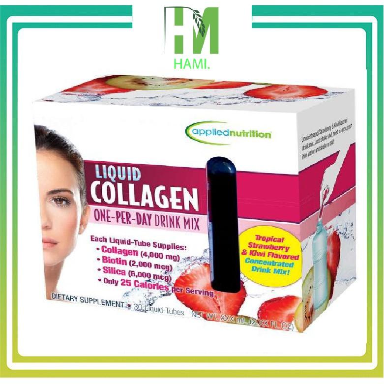 Collagen nước liquid collagen 4000mg dạng 30 ống giá rẻ