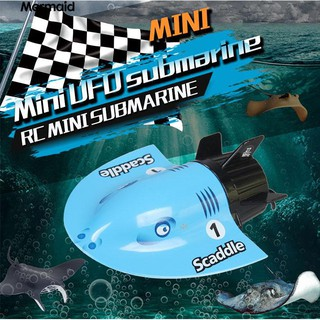 💖Mini Remote Control 2.4G Rechargeable Diving Electronic Submarine Kids Toy