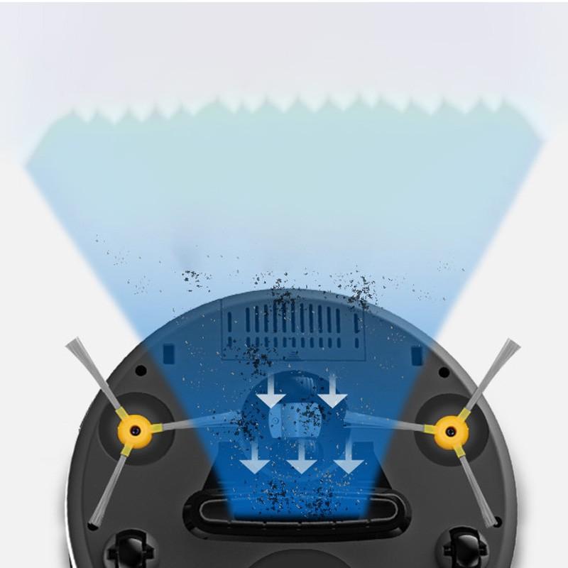 Máy hút bụi tự động KONKA KC-D11 pin trâu hút được các loại bụi cảm biến nhanh nhạy an toàn