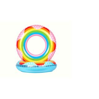 Phao bơi tròn hình cầu vồng
