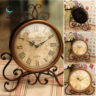 Đồng hồ để bàn phong cách vintage cổ điển