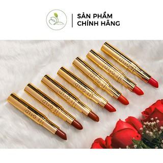 Son Nhung Lì Mini Garden Gold 2 in 1 Matte Lipstick - GOLD PV997