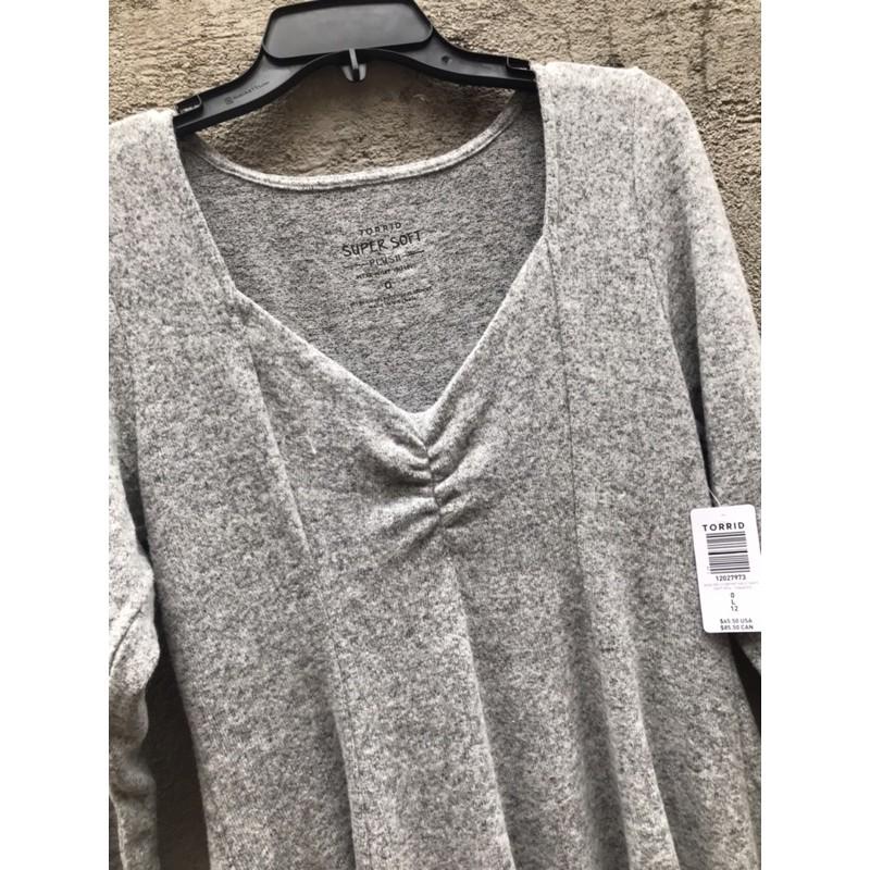 big size: đầm len dáng xoè Torr!d xuất khẩu
