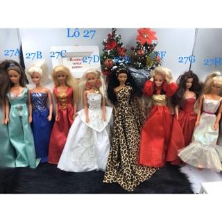 Búp bê Barbie chính hãng Hàng chính hãng . Búp bê Barbie Vintage cổ điển. Lô27