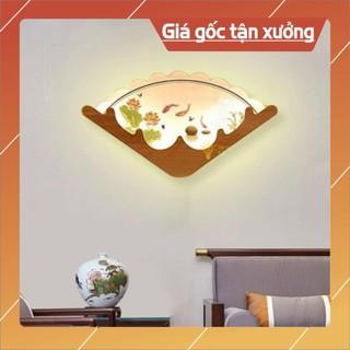 ( Bảo hành 12 tháng) Đèn led treo tường, đèn gắn tường hình quạt trang trí phòng khách, cầu thang hiện đại