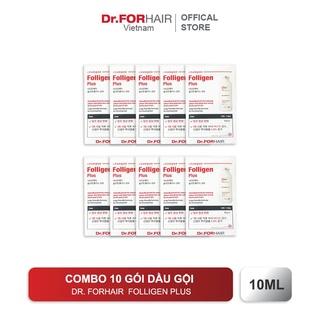 Combo 10 gói dùng thử dầu gội CHỐNG RỤNG TÓC & NGĂN GÀU, chăm sóc tóc khỏe mạnh Dr.FORHAIR Hàn Quốc Folligen Plus 10ml thumbnail