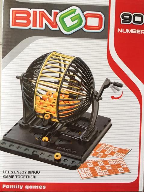 Lô tô quay - bingo