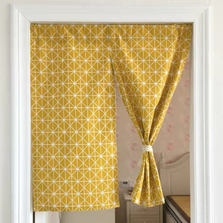 Rèm cửa, rèm kiểu Nhật đa năng loại 2 MẢNH (Đã bao gồm thanh treo rèm không cần khoan)