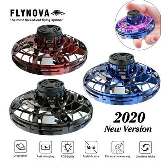 Flying Spinner-Flynova Con Quay Bay Sáng Tạo Siêu Bay Con Quay Ngón Tay Máy Bay Không Người Lái UFO Đồ Chơi Bay Quà Tặng